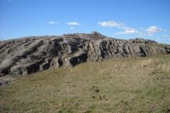 Paleodunas eólicas de la localidad de Cerro Conventos. Formación Buena Vista, Pérmico Tardío. Matías Soto.